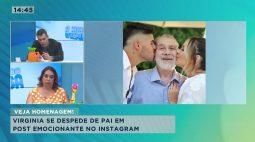 Morre pai de Virginia Fonseca após dois meses internado