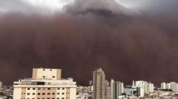 VÍDEO: Tempestade de poeira assusta moradores no interior de SP e causa cenário apocalíptico