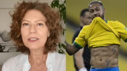 Patricia Pillar e Neymar trocam farpas nas redes sociais; entenda