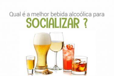 Qual é a melhor bebida alcoólica para socializar?