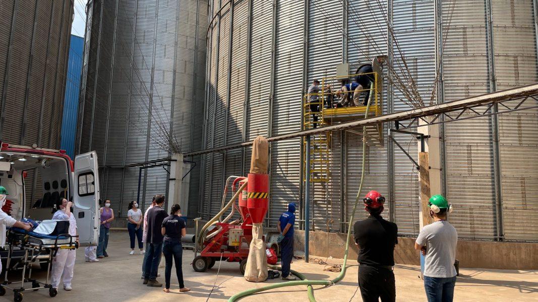Desespero! 3 pessoas são soterradas em silo de Cianorte (PR)