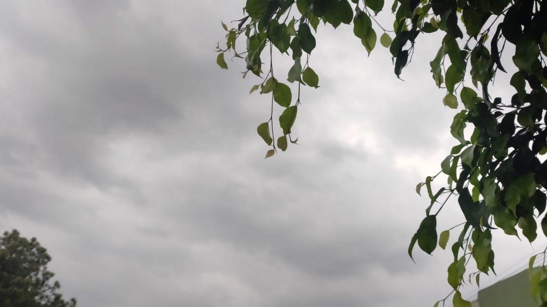 Chuva chega acompanhada de vento forte e queda de temperatura no Oeste do PR