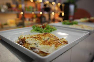 Almoço de Domingo: Lasanha 4 queijos