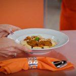 Almoço de Domingo: Nhoque de batata com ragu de carne