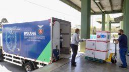 Paraná receberá mais 251,6 mil vacinas contra a Covid-19 nesta terça-feira (28)