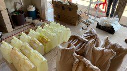 Operação fecha fábricas clandestinas de agrotóxicos no interior do Paraná