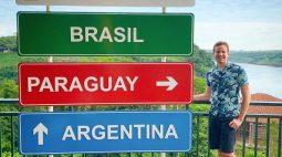 Jornalista cego conta a emoção de visitar as Cataratas do Iguaçu