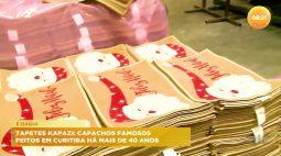 Famosos tapetes Kapazi são feitos em Curitiba há mais de 40 anos
