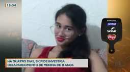 Pollyana, de 11 anos, está desaparecida desde a última segunda-feira