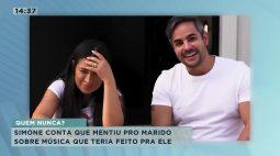 No canal no youtube, a cantora revela que já mentiu pro marido!