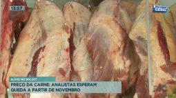 Analistas esperam que preço da carne diminua a partir de novembro