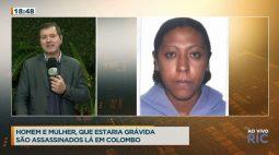 Homem e mulher, que estaria grávida são assassinados em Colombo