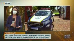 Pastora é presa suspeita de manter mulheres em cárcere privado em clínica na fronteira
