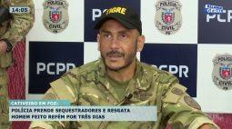 Polícia prende sequestradores e resgata homem feito refém por três dias