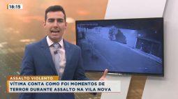 Gangue invade casa na Vila Nova, rende moradores e leva 5 carros