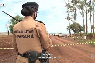 Homem pode ter sido morto por estar descartando lixo na zona rural de Maringá