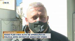 Após exibir armas, rapper Mano Fler é alvo de operação da Polícia Civil