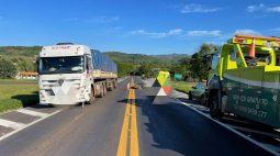 Mulher morre em acidente no Trevo de acesso a Quedas do Iguaçu