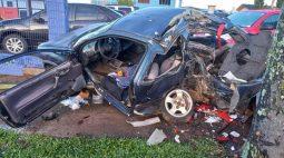 VÍDEO: Grávida de 6 meses morre em acidente com carro em alta velocidade