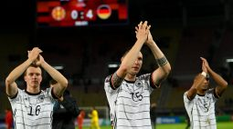 Alemanha goleia Macedônia do Norte e se classifica para a Copa do Mundo