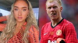 Lenda do futebol vira 'meme' após vídeo mastigando as unhas do pé da filha