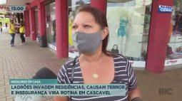 Ladrões invadem residência, causam terror e insegurança vira rotina em Cascavel