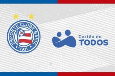 Bahia assina com novo patrocinador para uniforme até 2023
