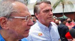 Na véspera de novo aumento do combustível, Bolsonaro declara que governo federal não irá interferir