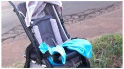 Veículos se envolvem em acidente e carro atinge carrinho de bebê no Oeste do PR