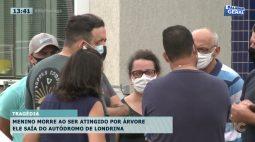 Menino morre ao ser atingido por árvore enquanto saía do autódromo de Londrina