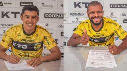 FC Cascavel renova com Wilian Simões e Paraguaio Eduardo Echeverría para a temporada de 2022