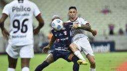 Athletico joga mal, é dominado pelo Fortaleza e perde por 3 a 0