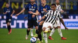 Com gol de pênalti no fim, Inter e Juventus ficam no empate pelo Campeonato Italiano