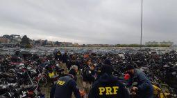 PRF realiza leilão online de mais de 100 veículos aptos a circulação