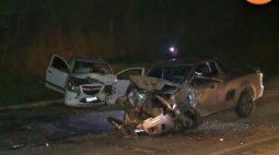 Motorista morre e outro fica em estado grave após colisão frontal na Rodovia dos Minérios