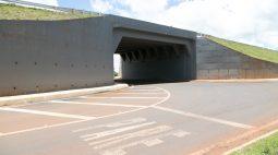 Manutenção no trevo em frente ao autódromo de Cascavel altera fluxo de veículos