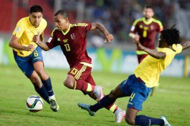 Venezuela bate Equador de virada pelas Eliminatórias para a Copa