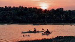 Travessia de caiaque chega Foz do Iguaçu depois de percorrer mais de 800 km pelo Rio Paraná