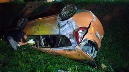 Motorista é preso suspeito de provocar capotamento para matar mulher e criança