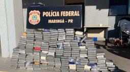 Polícia apreende quase 240 quilos de cocaína escondidos em tanque de caminhão