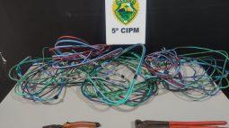 Homem furta fiação da casa da própria avó e vai preso em Cianorte