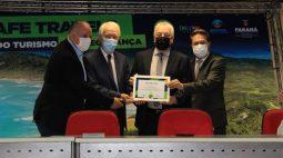 Foz do Iguaçu recebe certificado de Destino Seguro da Organização Mundial de Turismo