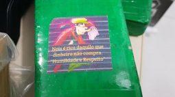 """""""Humildade e respeito"""": maconha do Pateta é encontrada em residência de Maringá"""