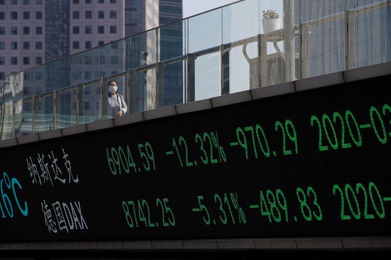 Ações da China saltam com dados econômicos positivos e impulso de novas listagens
