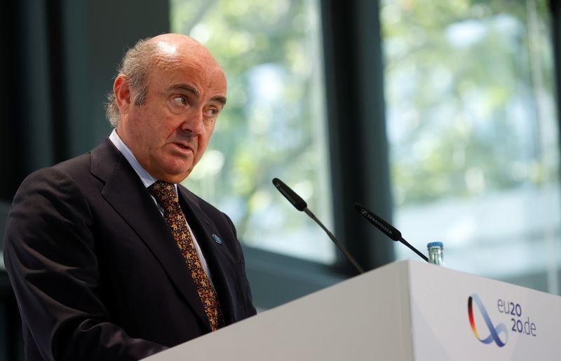 De Guindos, do BCE, diz que taxa de câmbio é fundamental para inflação