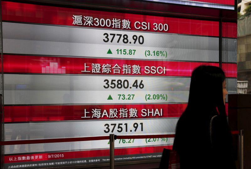 Índice de blue-chips da China fecha em alta com lucro das empresas industriais