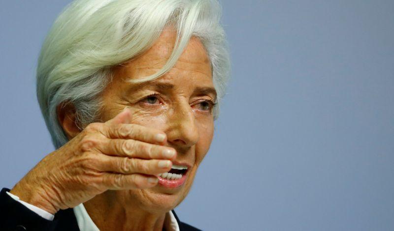 Bancos da zona do euro podem absorver prejuízos da crise, diz Lagarde