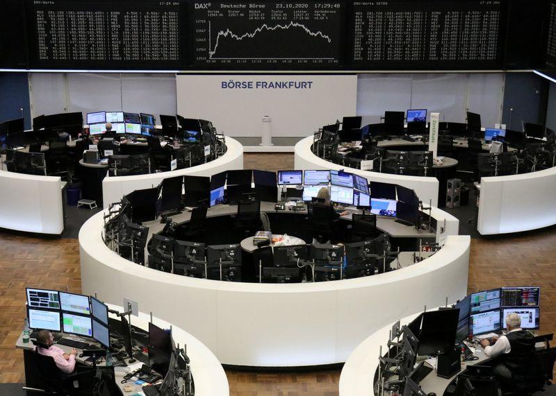 SAP afunda ações alemãs, preocupações com Covid-19 pesam em demais bolsas europeias