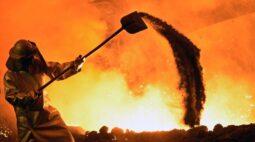 ArcelorMittal religa alto-forno no ES