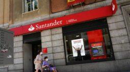 Espanhol Santander volta a registrar lucro no 3º tri